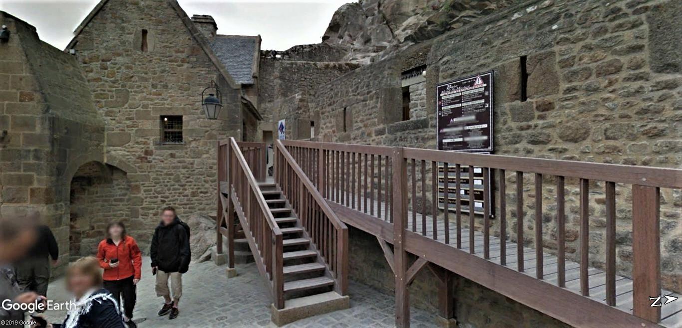 Visite Google Earth du Mont-Saint-Michel en France !! !! Mont-s32