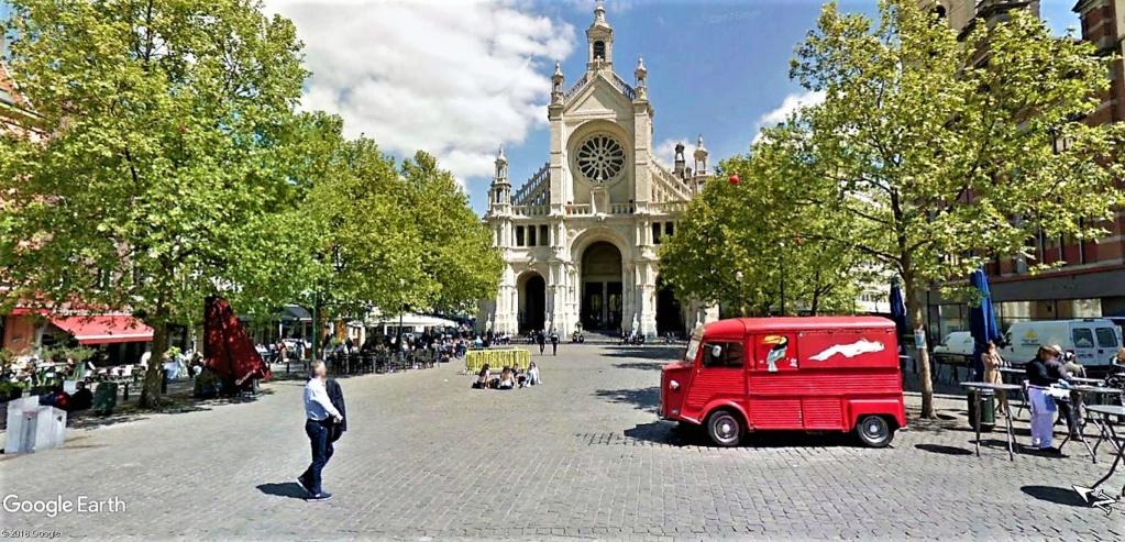 Le marché de Noël à Bruxelles en Belgique. Place_10