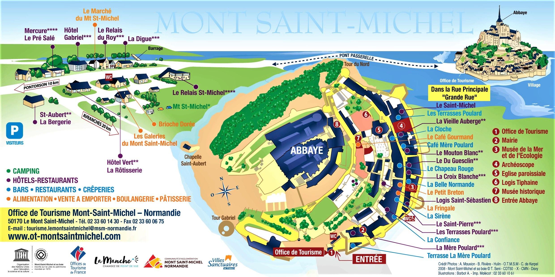 Visite Google Earth du Mont-Saint-Michel en France !! !! Plan_f11