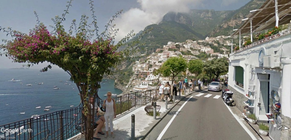 Positano, Salerne, cote Amalfitaine en Italie. Posita15