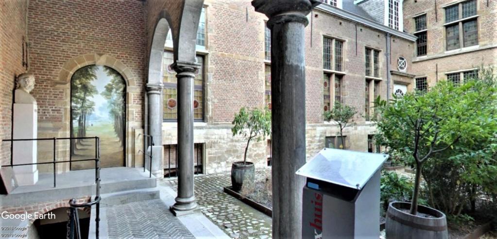 Maison Rockox [Rockoxhuis] à  Anvers en Belgique.  Rockox15