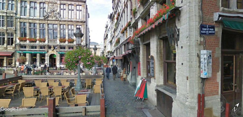 Le marché de Noël à Bruxelles en Belgique. Rue_ch10