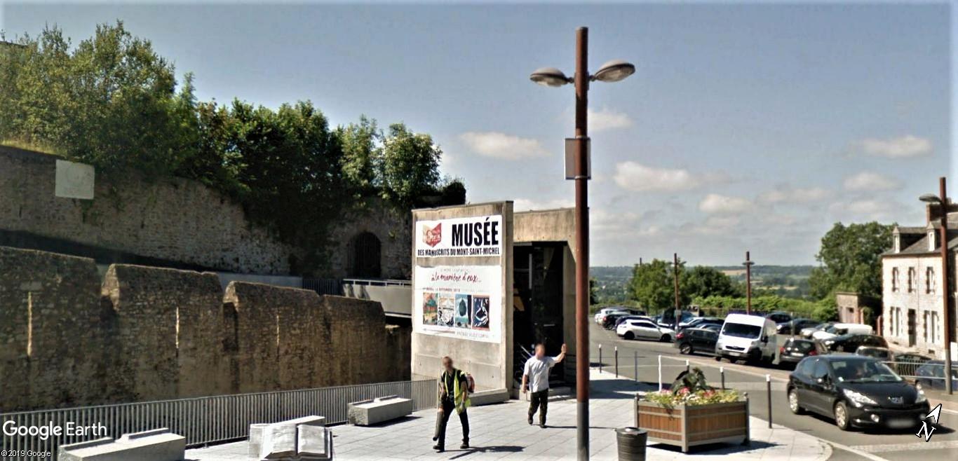 Visite Google Earth du Mont-Saint-Michel en France !! !! Script10