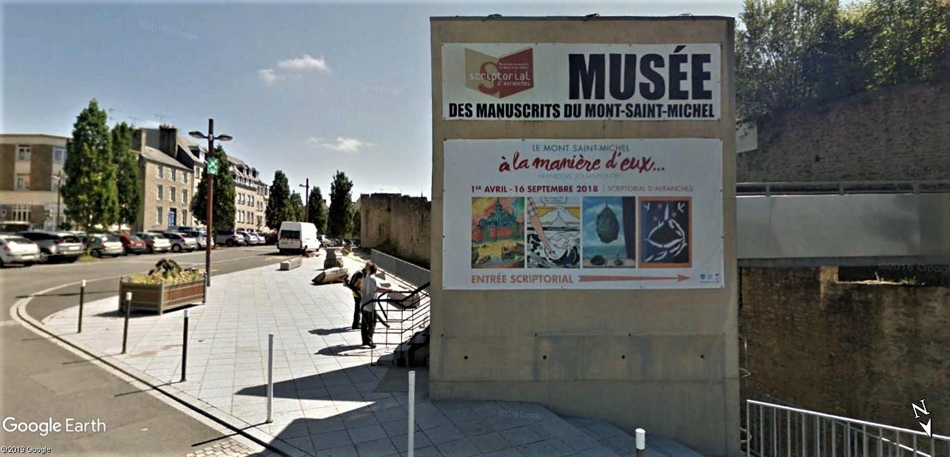 Visite Google Earth du Mont-Saint-Michel en France !! !! Script11