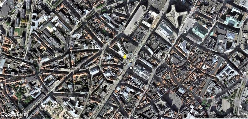 Le marché de Noël à Bruxelles en Belgique. Tipi_v10