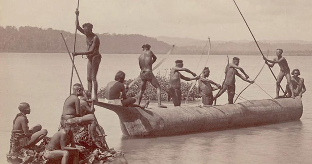 Île de North Sentinel, l'une des îles Andaman dans le golfe du Bengale !! Une-tr10