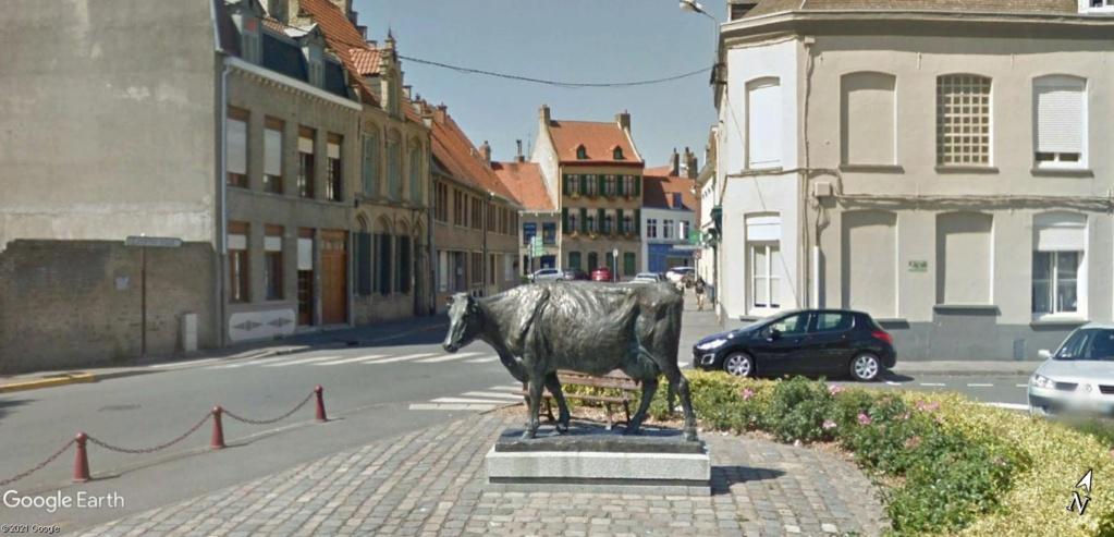 STREET VIEW : les statues de vaches - Page 3 Vache_10