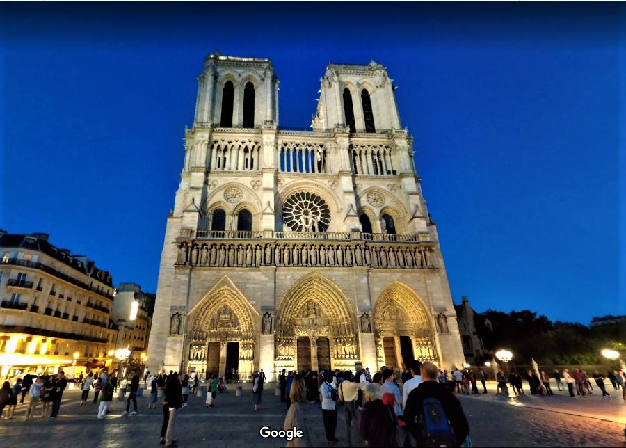 Sauvegarde virtuelle, visuelle  & mémorielle de la  Cathédrale Notre Dame de PARIS Vue_sv12