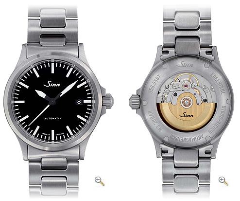 Aide pour un choix de montre (remontage manuel) ? Sinn_610