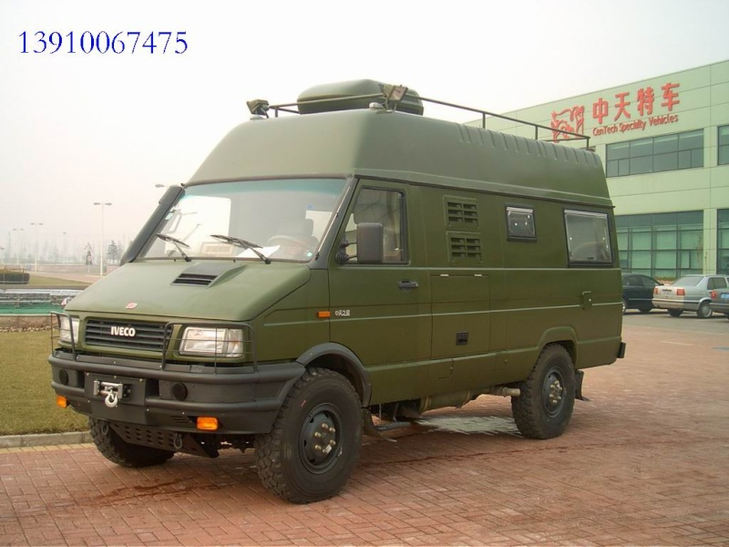 Iveco 4x4 camper Green_10