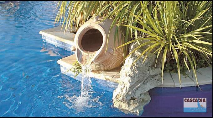 Poser une vasque pour cascade d'eau Jarre-10