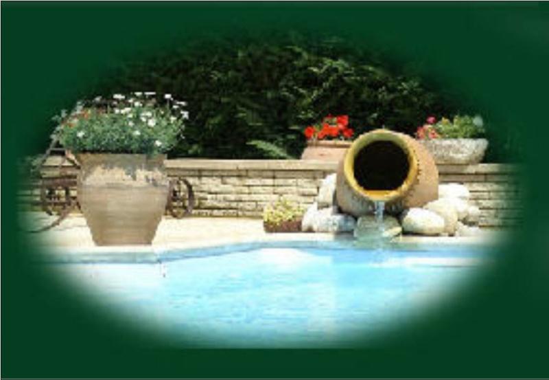 Poser une vasque pour cascade d'eau Jarre10