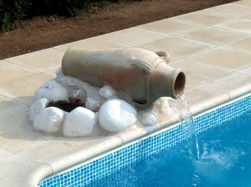 Poser une vasque pour cascade d'eau P_012_10