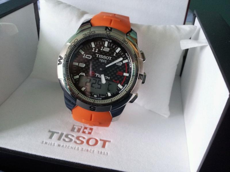 Tissot touch ! Enfin ! Et première question déjà ! 20120211