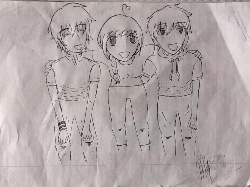 Eiichi's corner of drawings~  Photo10