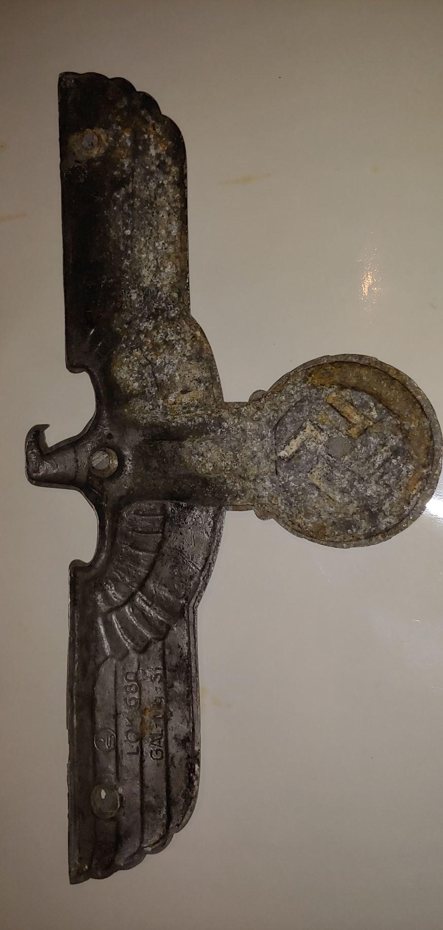 Aigle de la Reichsbahn  original ou copie ?  Img_6917