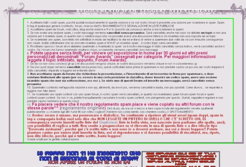 Spazio/Area testo dentro le categorie sopra i topic Spazio10