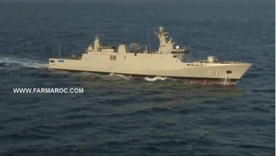Royal Moroccan Navy Sigma class frigates / Frégates marocaines multimissions Sigma - Page 8 61410