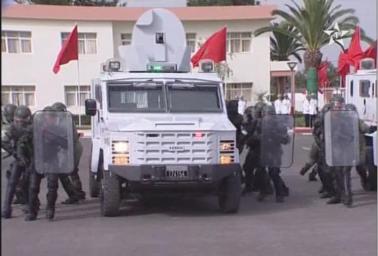 المغرب تسلم 88 عربة مدرعة bearcat 4x4 للقوات المغربية الحدودية. Sans_t65