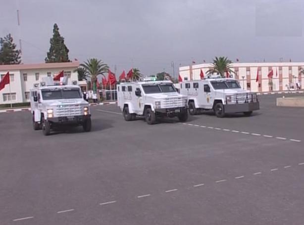 المغرب تسلم 88 عربة مدرعة bearcat 4x4 للقوات المغربية الحدودية. Sans_t66