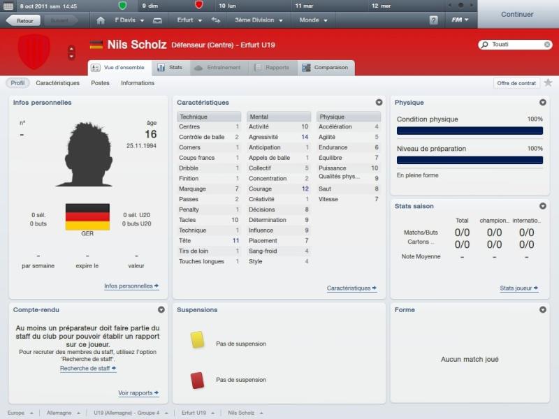 Story 1:FC RW Erfurt-Fahed Davis la matien a tout prix[Saison 1 Octobre-Novembre]FM2012 2012-027