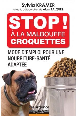 """Livre """"Stop ! A la malbouffe - Croquettes de nos chiens et chats""""   Stop-a10"""