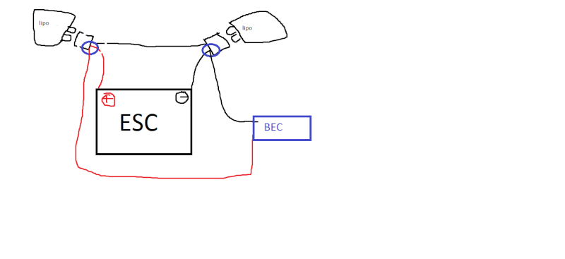Comment brancher CC BEC sur E REVO ? 1111111