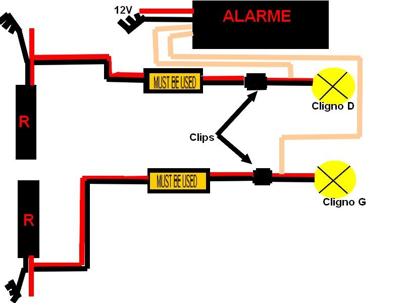 Problème installation alarme sur XB12 Montag10