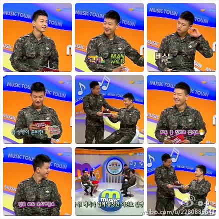 Ju Hwan tham gia chương trình Music town và new pics 87f39110