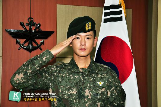 In the military - Tin tức về anh Hwan trong thời gian nhập ngũ Izii310