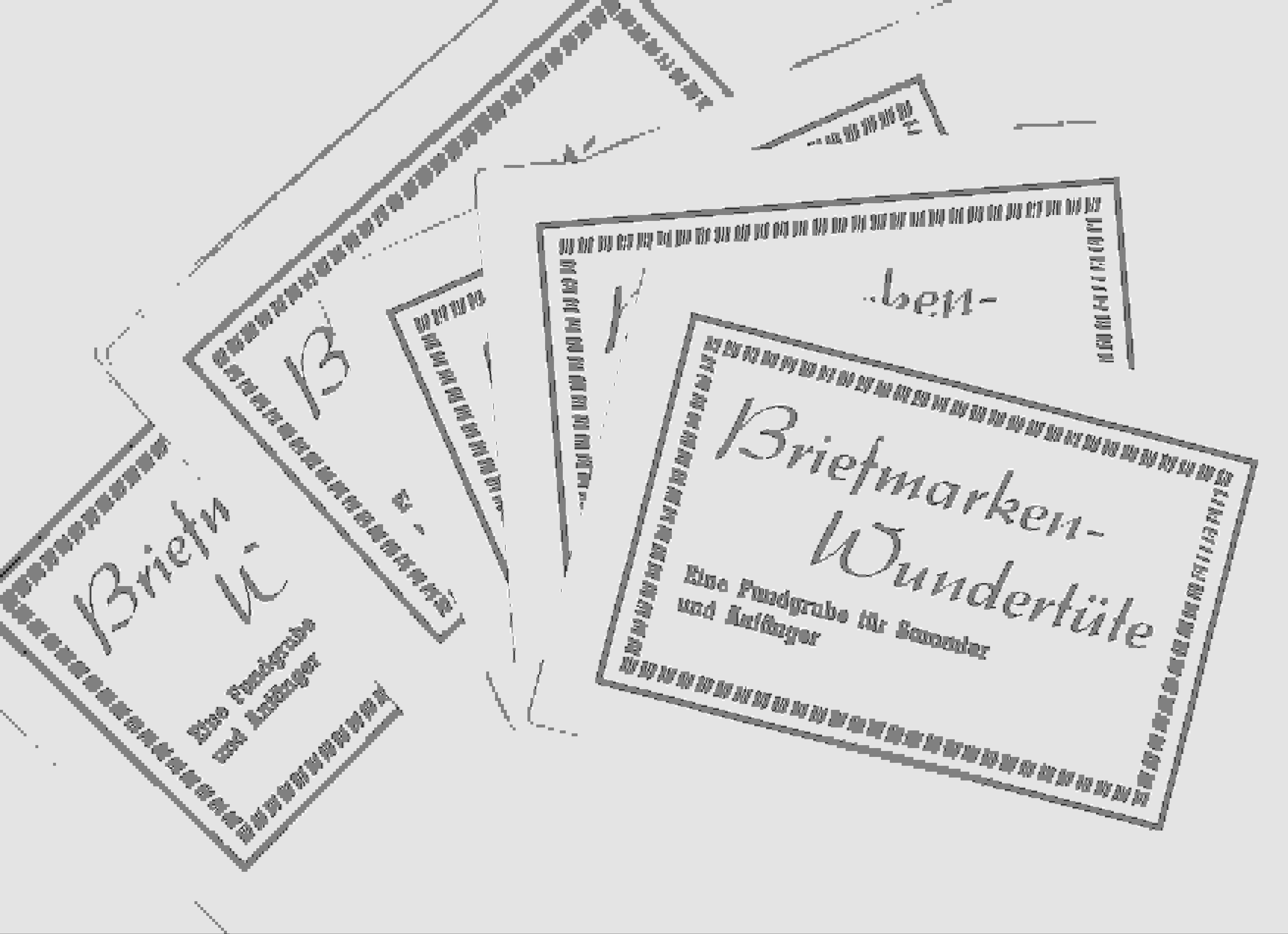 Schatz oder Altpapier Briefm11