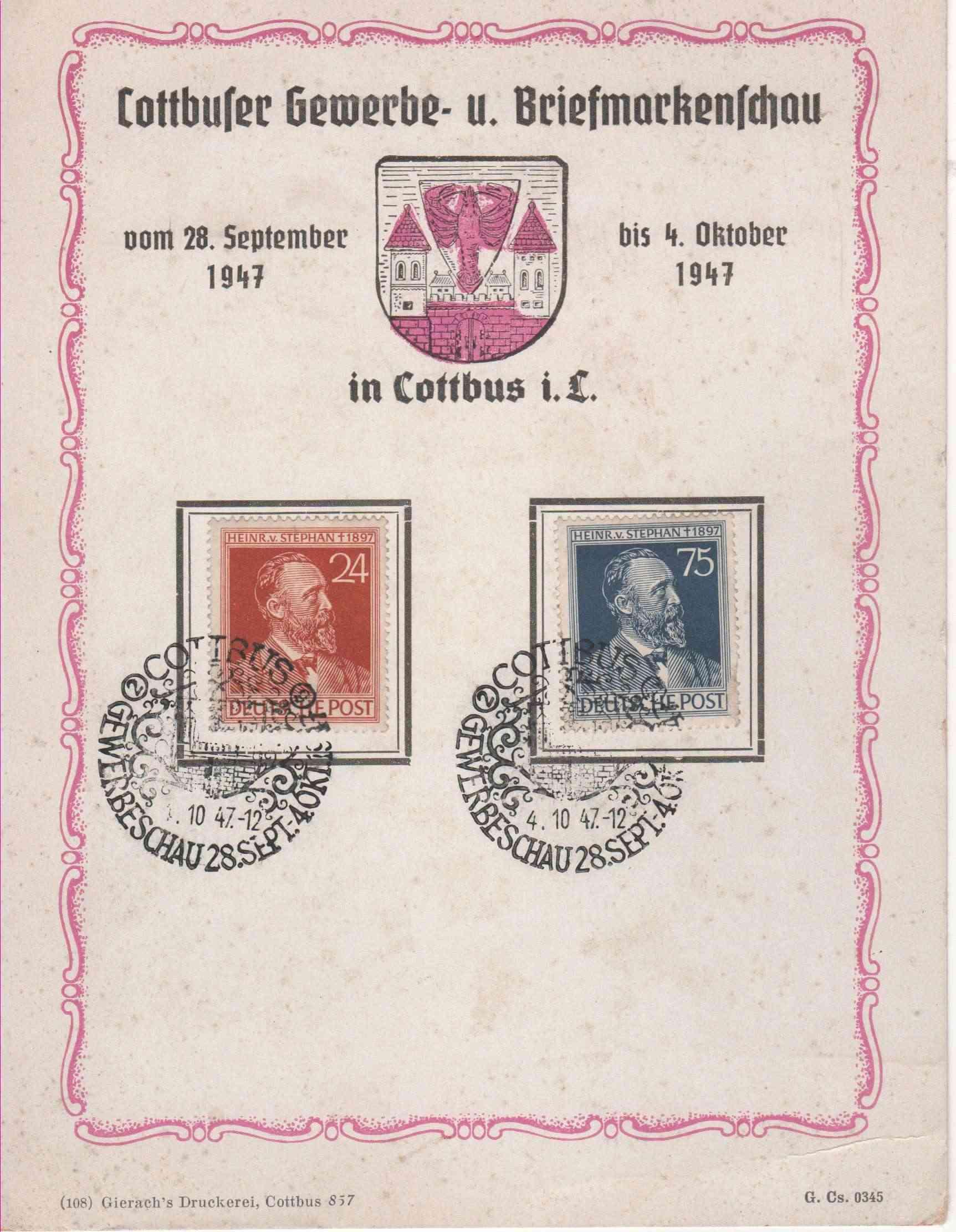 Schatz oder Altpapier Briefm17