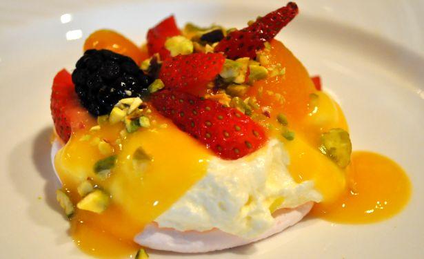 Summer Pavlova with Passionfruit Cream ~~~  Pavlov10