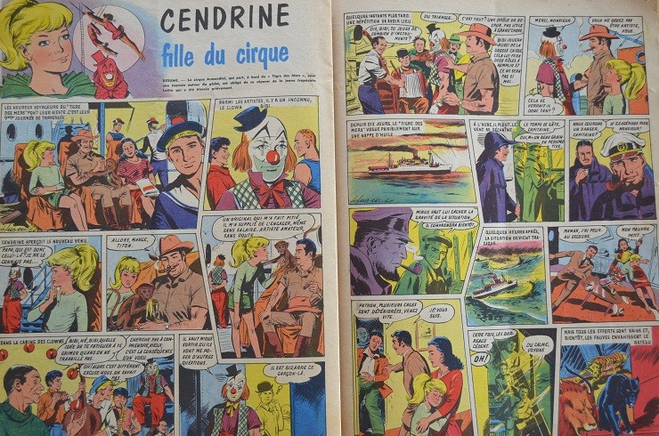 French comics. Lisett13