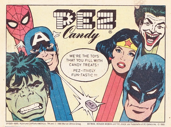 The Toy Advert Time Machine: your weekly look into the world of vintage comic adverts! Pezmar11