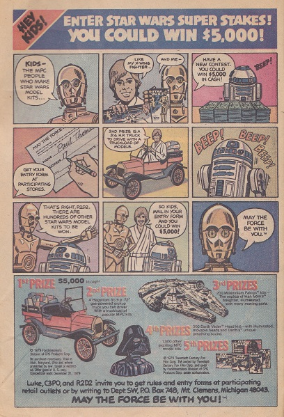 The Toy Advert Time Machine: your weekly look into the world of vintage comic adverts! Spider10