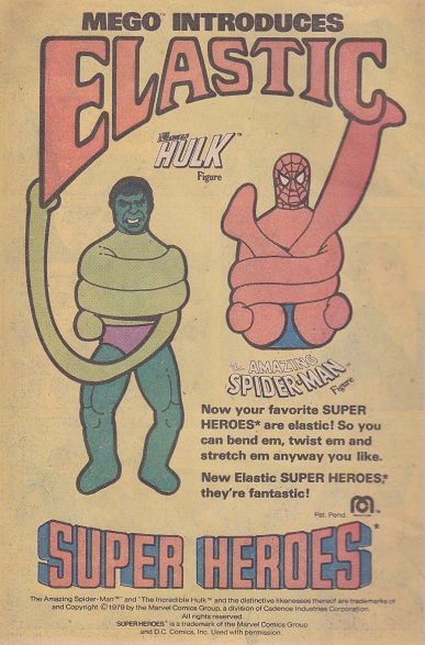 The Toy Advert Time Machine: your weekly look into the world of vintage comic adverts! Spider11
