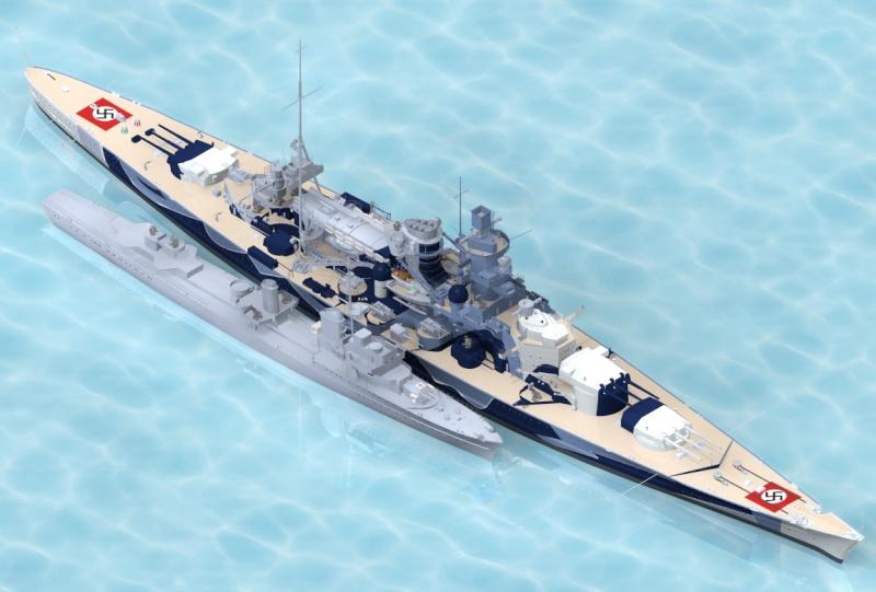 1:72 Scale German WW2 Heavy Battle Cruiser K.M.S. Scharnhorst 1943 - Page 13 Scharn10