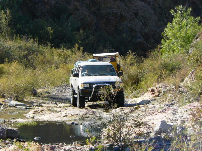 Salida Agua del Toro San Rafel Mendoza Trabec12