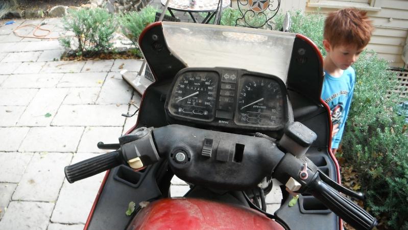 My 84 K100 RS restoration Dscf0121