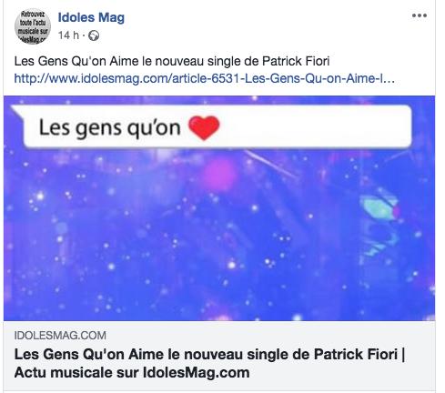"""Nouveau single: """"Les gens qu'on aime"""" - Août 2018 Captur10"""
