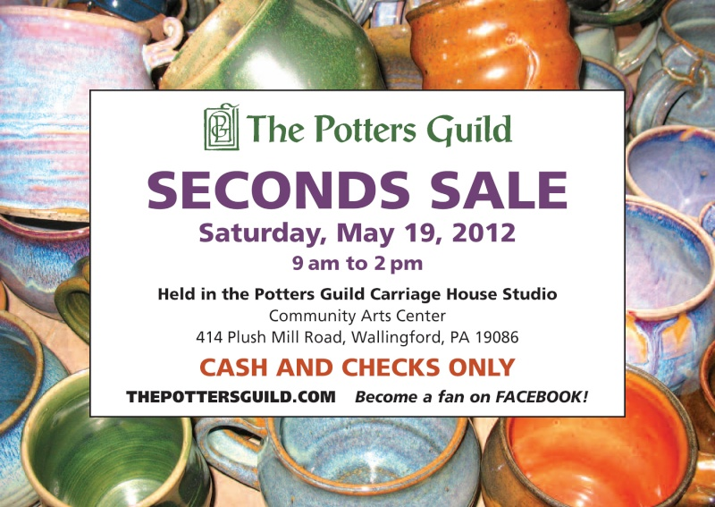 Seconds Sale on May 19th - 9am to 2pm! Guild_11