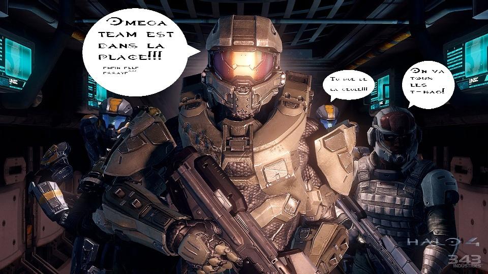 Halo team Omega