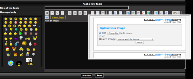 How to Post Pictures to the site. Step210