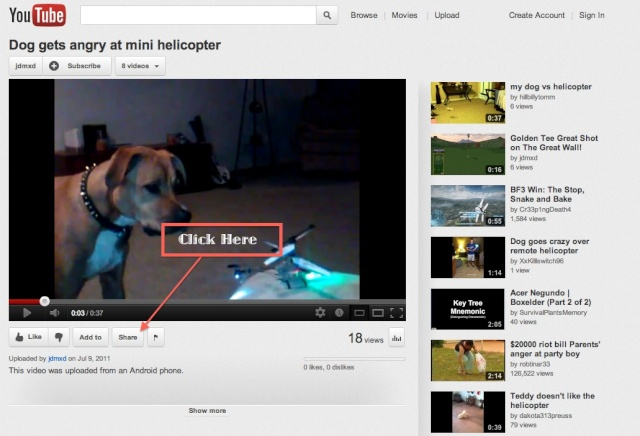 Please read. How to embed youtube videos to site. Youtub10