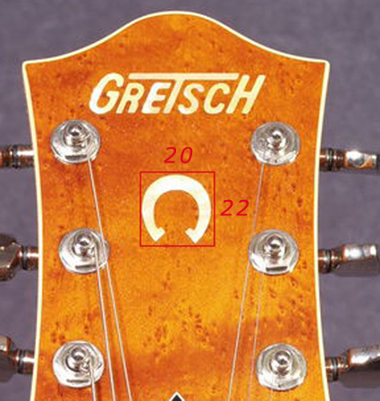 Logo Gretsch 6120ss10