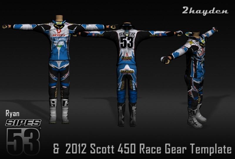 Scott 450 Race template et tenue de Ryan SIPES Rendu-10