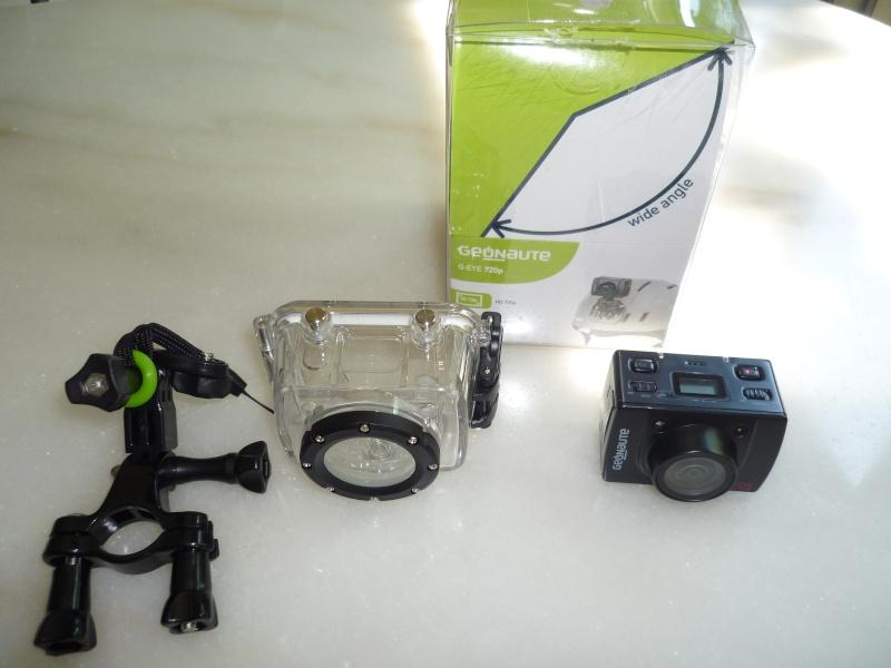 CAMERA  GEONAUTE G-EYE HD 720p P1000813
