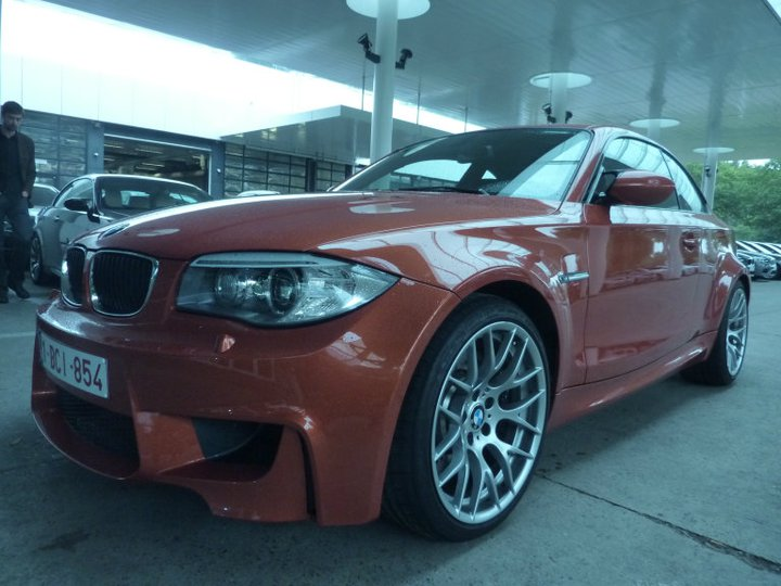 Photo présentation officielle + essais  BMW 1 M E82-2011 0210