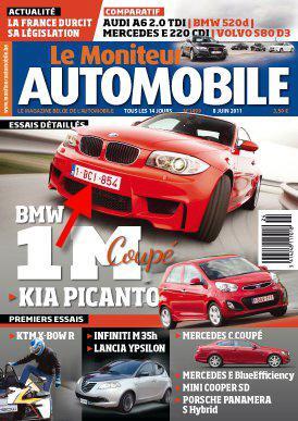 Photo présentation officielle + essais  BMW 1 M E82-2011 0410